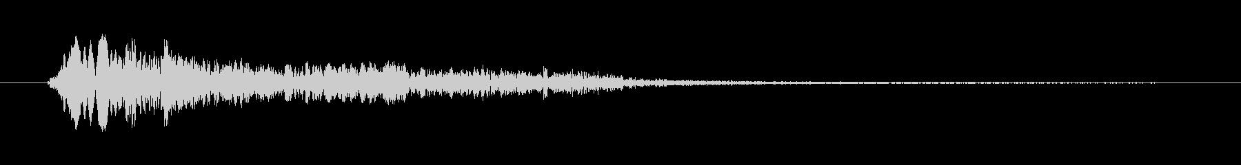 鳥 ホークコールスコーク02の未再生の波形