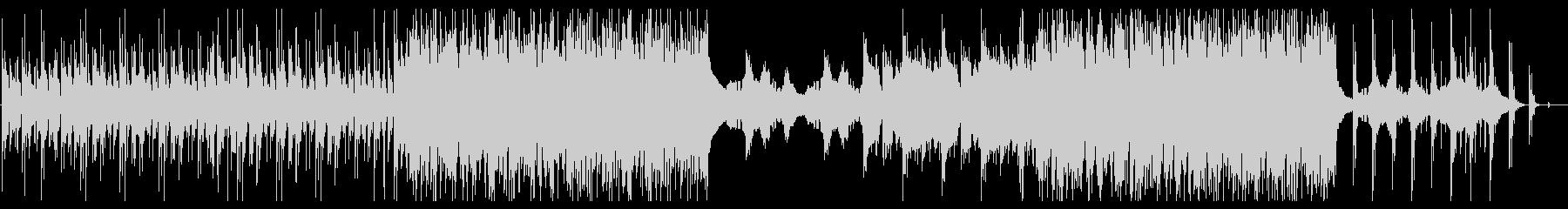 追跡の未再生の波形