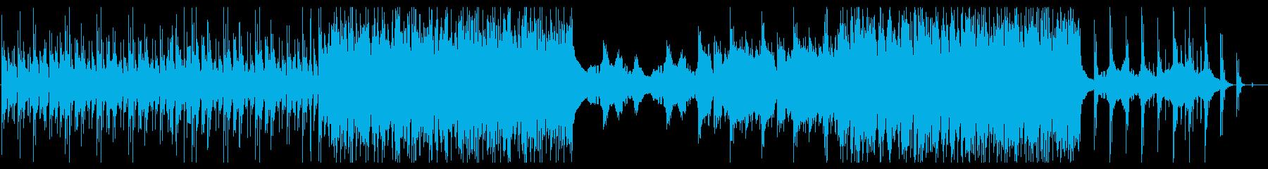 【ドラマティックテンション】ギターの再生済みの波形