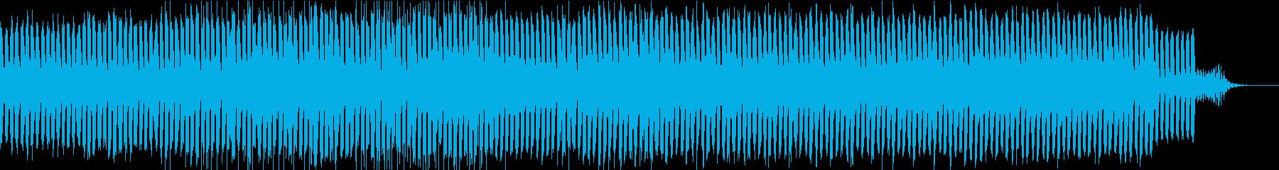 エレクトロなedmの再生済みの波形