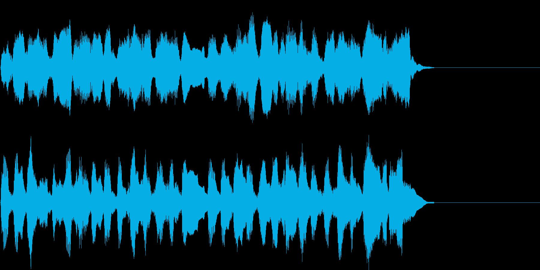 懐かしくてのどかなアレンジのクラシックの再生済みの波形