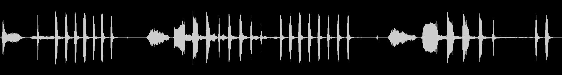 大人の女性:笑いの未再生の波形