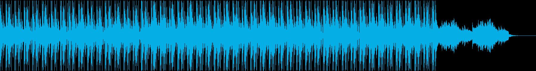 お洒落なピアノハウスBGMの再生済みの波形