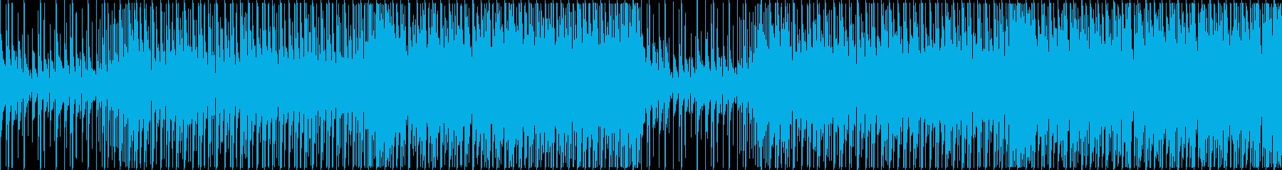 切ない雰囲気 トロピカルハウス、EDMの再生済みの波形