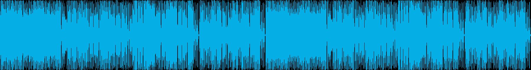 熱血硬派な本気のファミコンBGM 劇伴の再生済みの波形