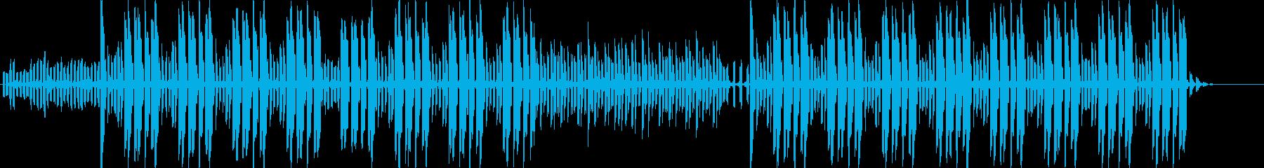 テクノ系のグルーブが心地よいBGMです。の再生済みの波形