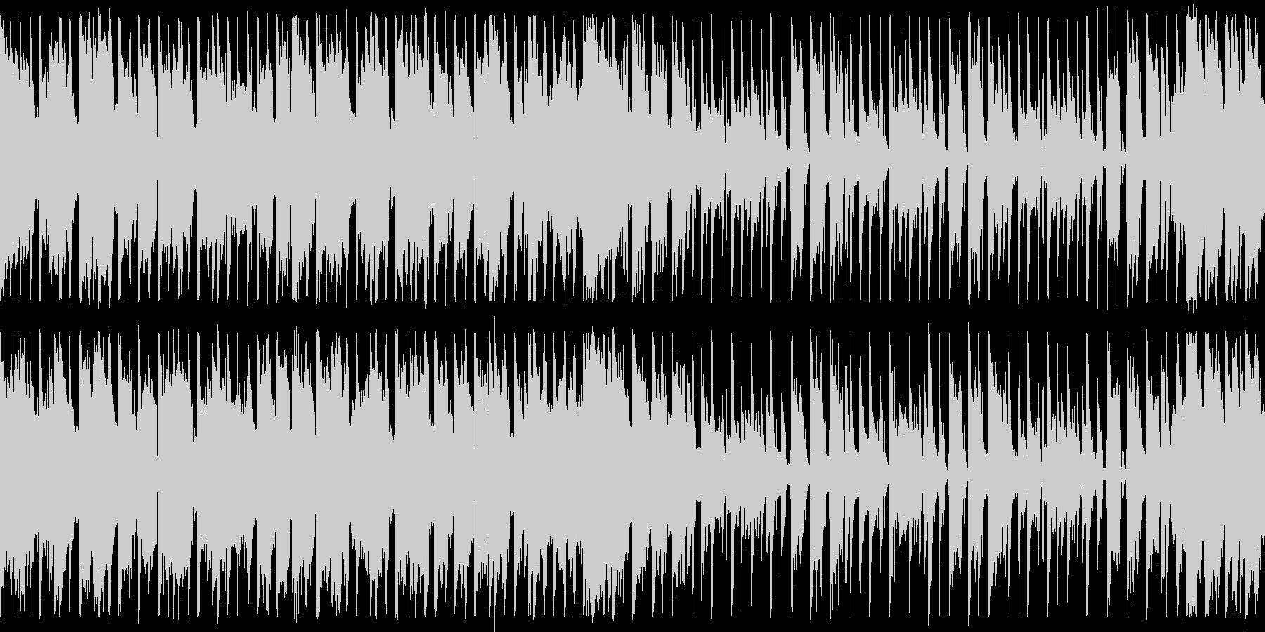 ダンスエクササイズBPM140:ショートの未再生の波形