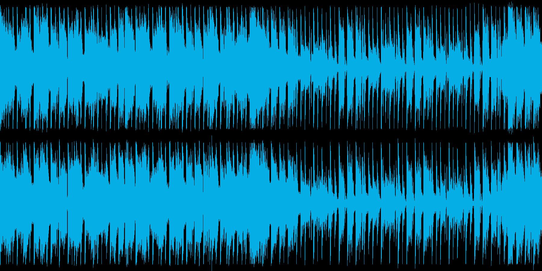 ダンスエクササイズBPM140:ショートの再生済みの波形