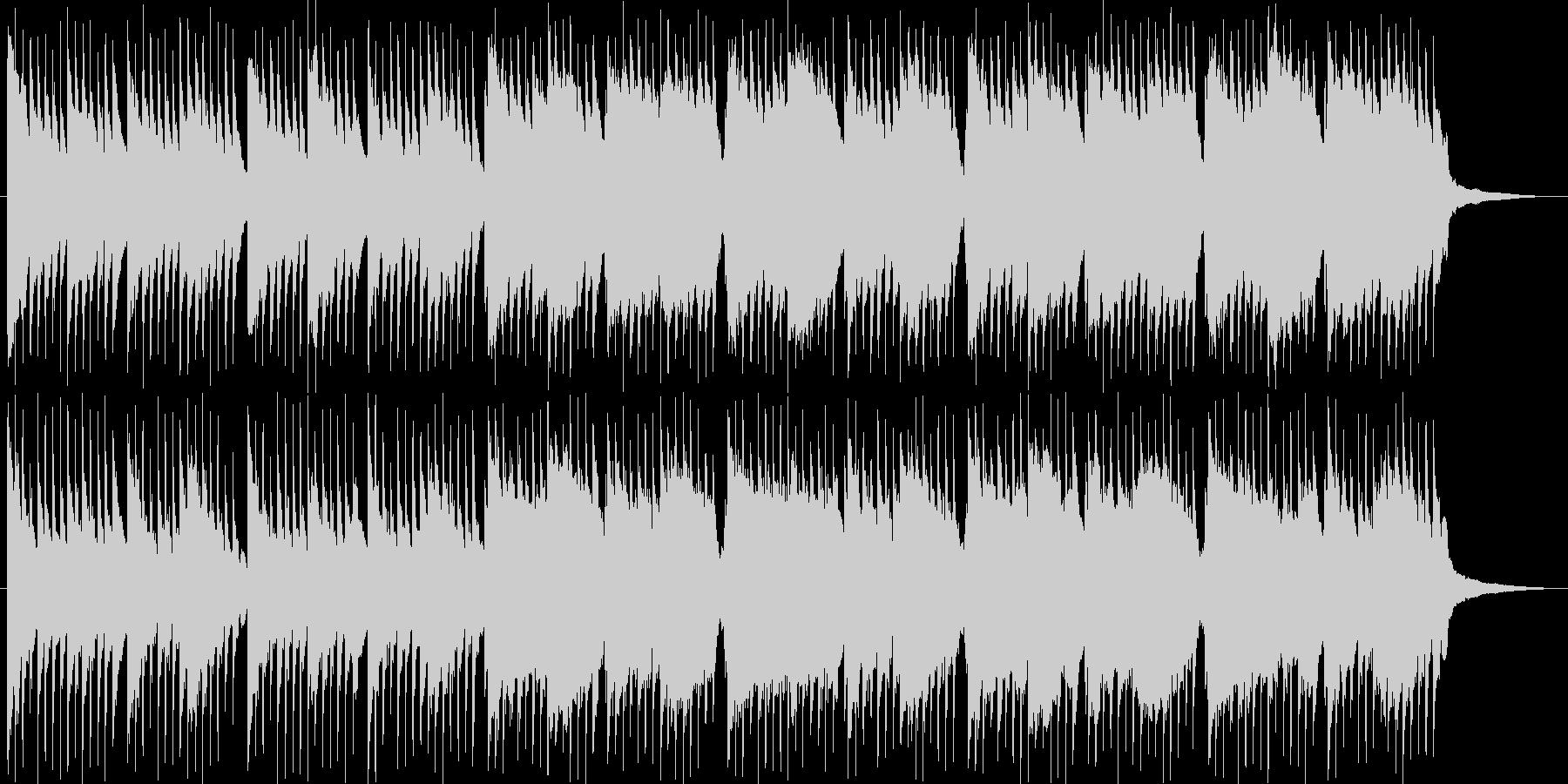 琴、尺八、日本らしい切ない和風曲の未再生の波形