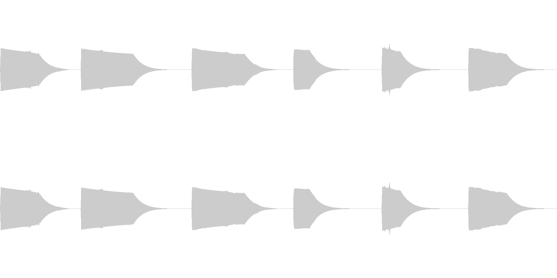 シンセ、フィルター、スイープ、ター...の未再生の波形