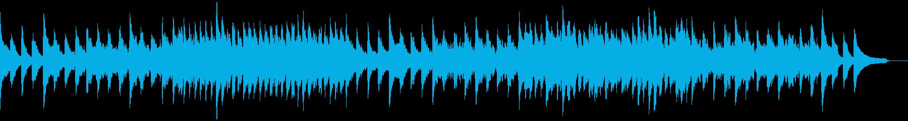 エステ、ヨガ、リラクゼーションの再生済みの波形