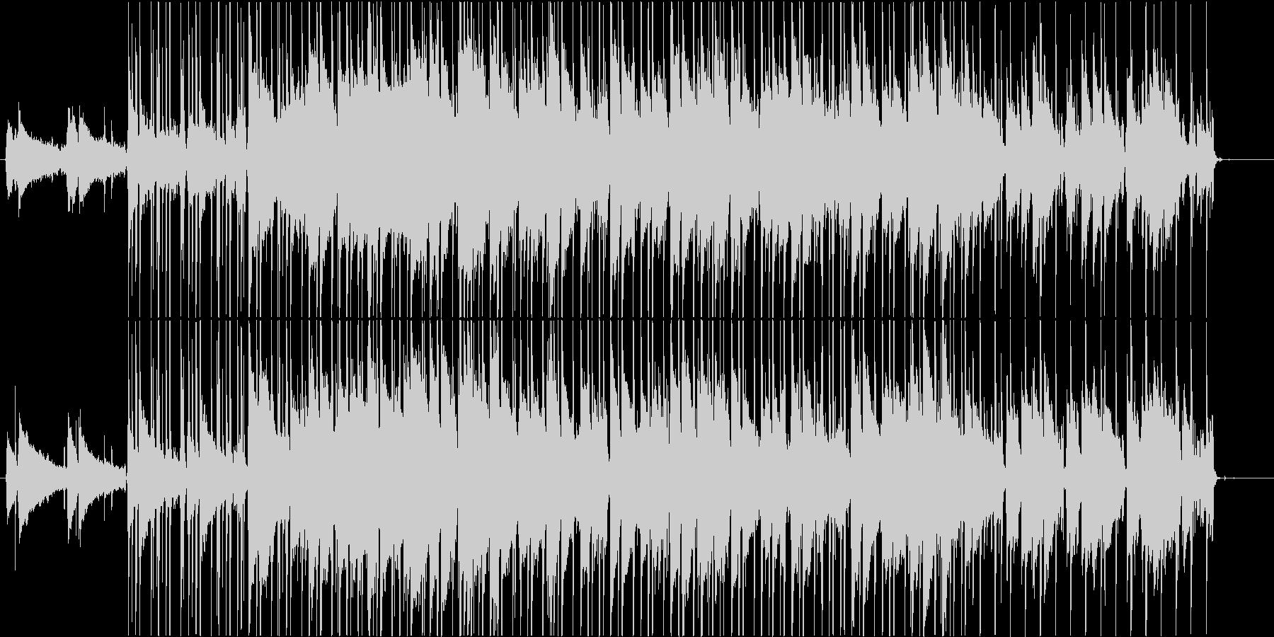 懐かしさのLo-fi hiphopの未再生の波形