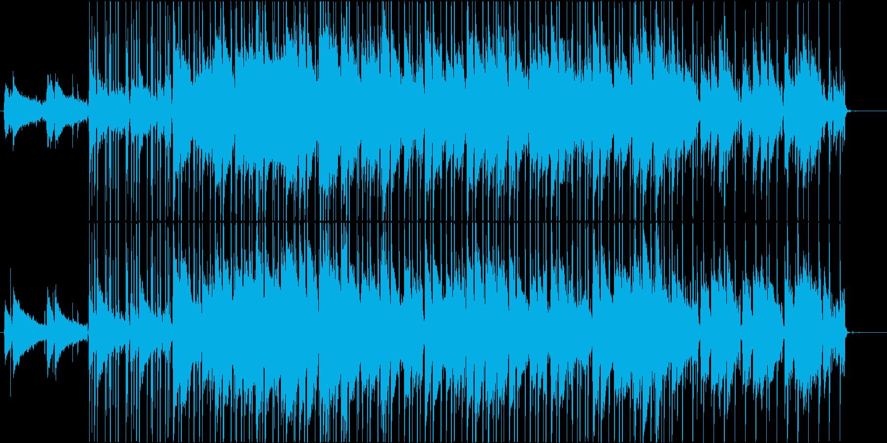 懐かしさのLo-fi hiphopの再生済みの波形