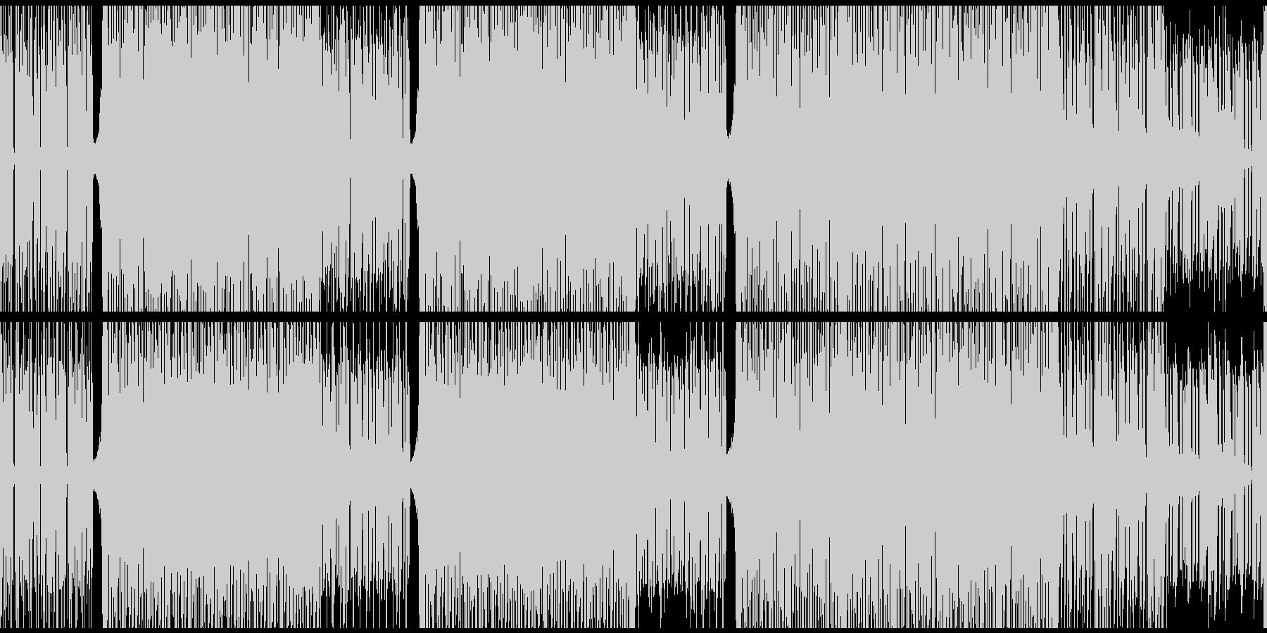 オシャレなダンスミュージック ループ可能の未再生の波形