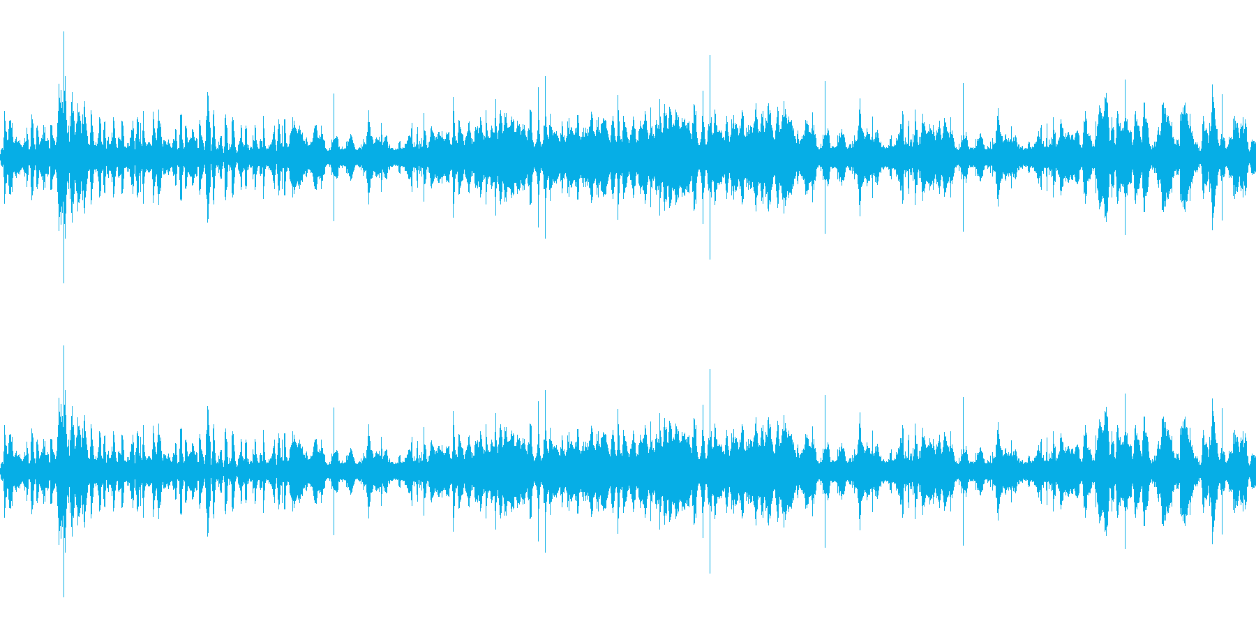 波1 4の再生済みの波形