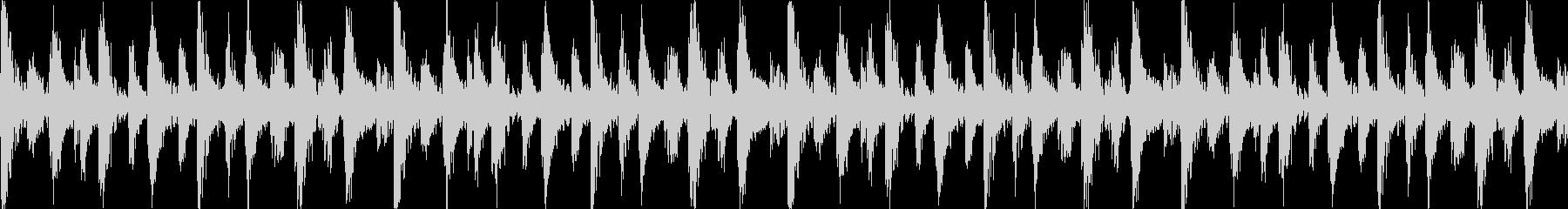 民族ジャングルBGM_LOOPの未再生の波形