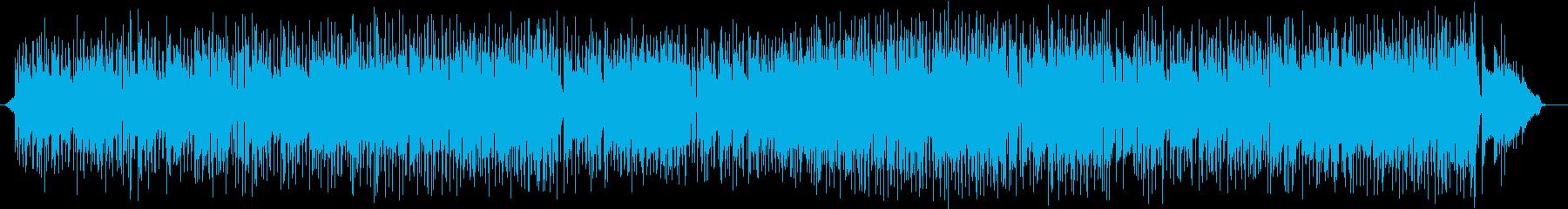 ほのぼのフュージョンの再生済みの波形