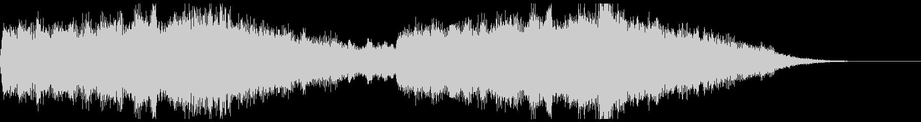 MARVEL風オーケストラジングルの未再生の波形