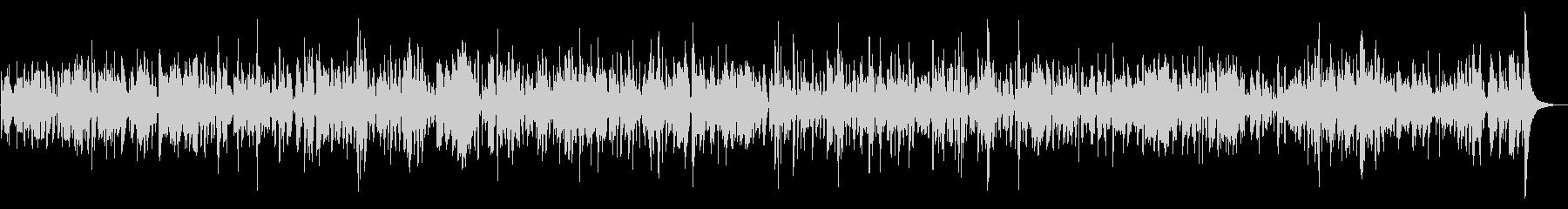 優しく穏やかなクラリネットジャズBGMの未再生の波形
