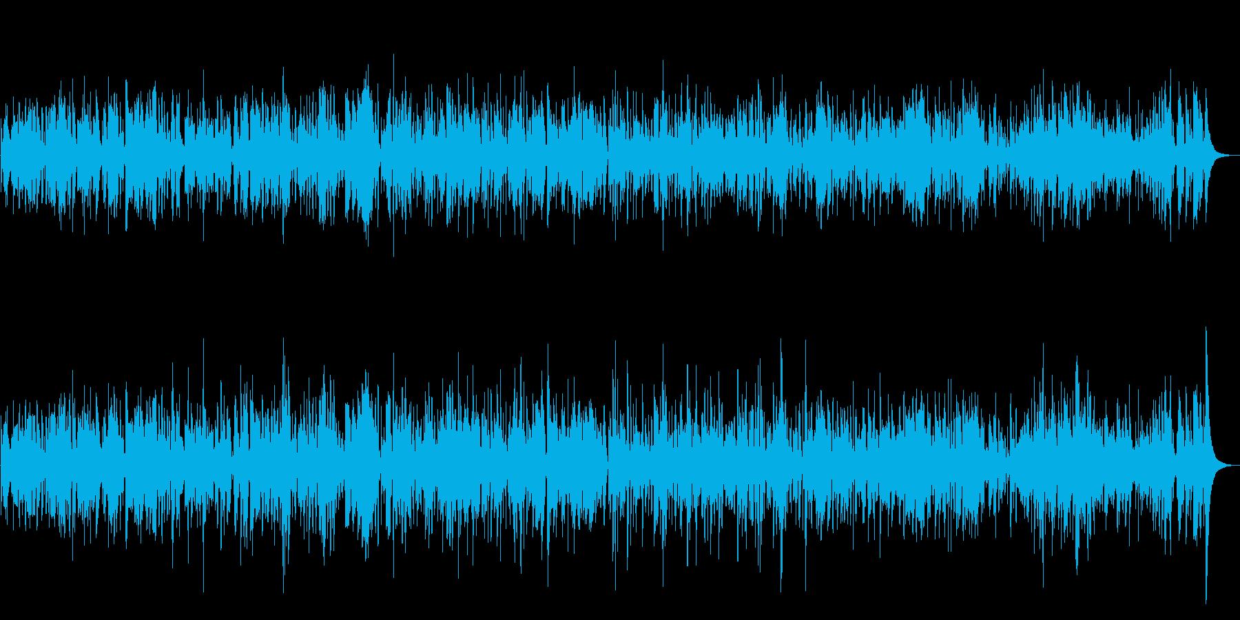 優しく穏やかなクラリネットジャズBGMの再生済みの波形