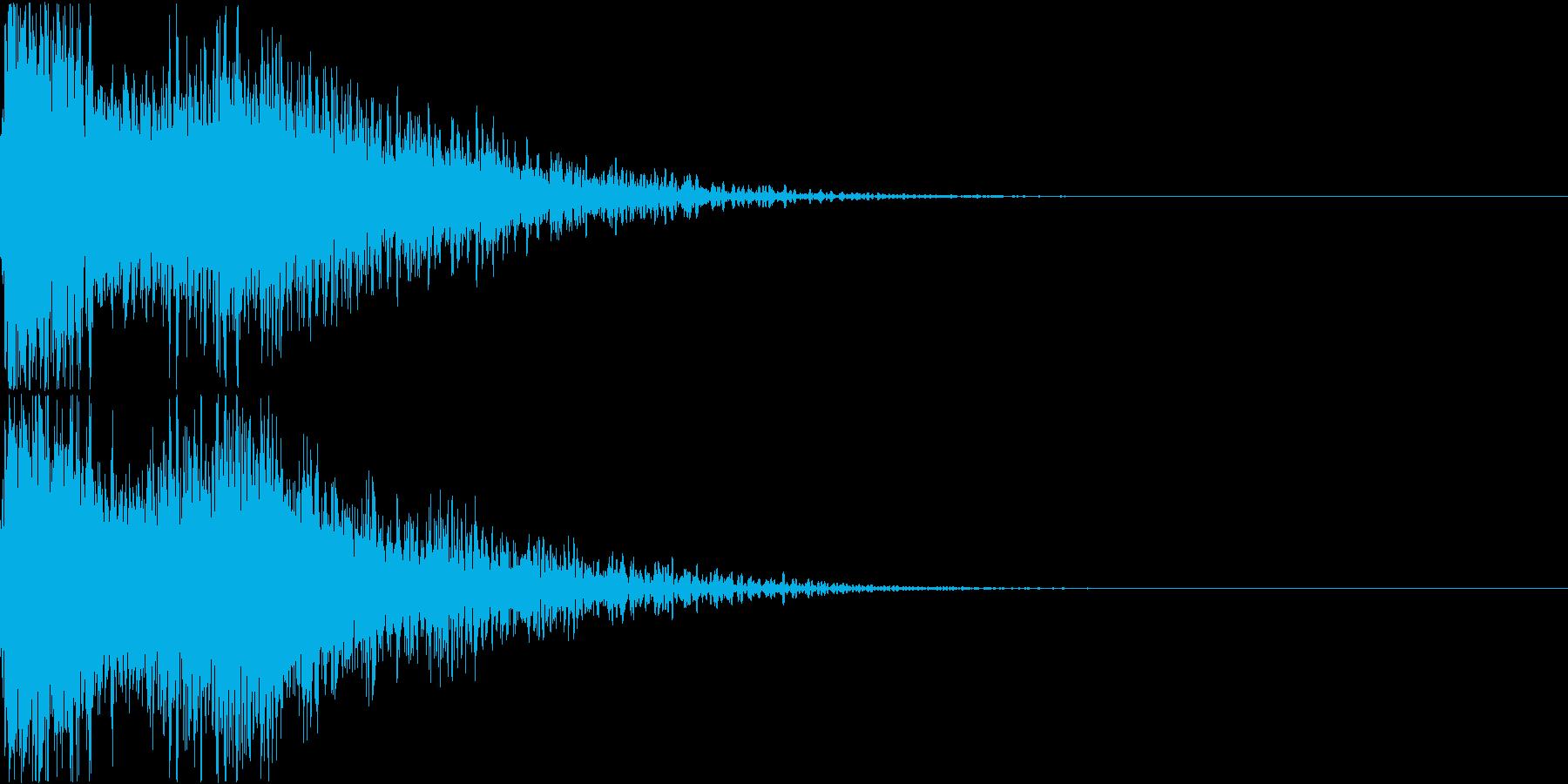 ロボット 合体 ガシーン キュイン 24の再生済みの波形