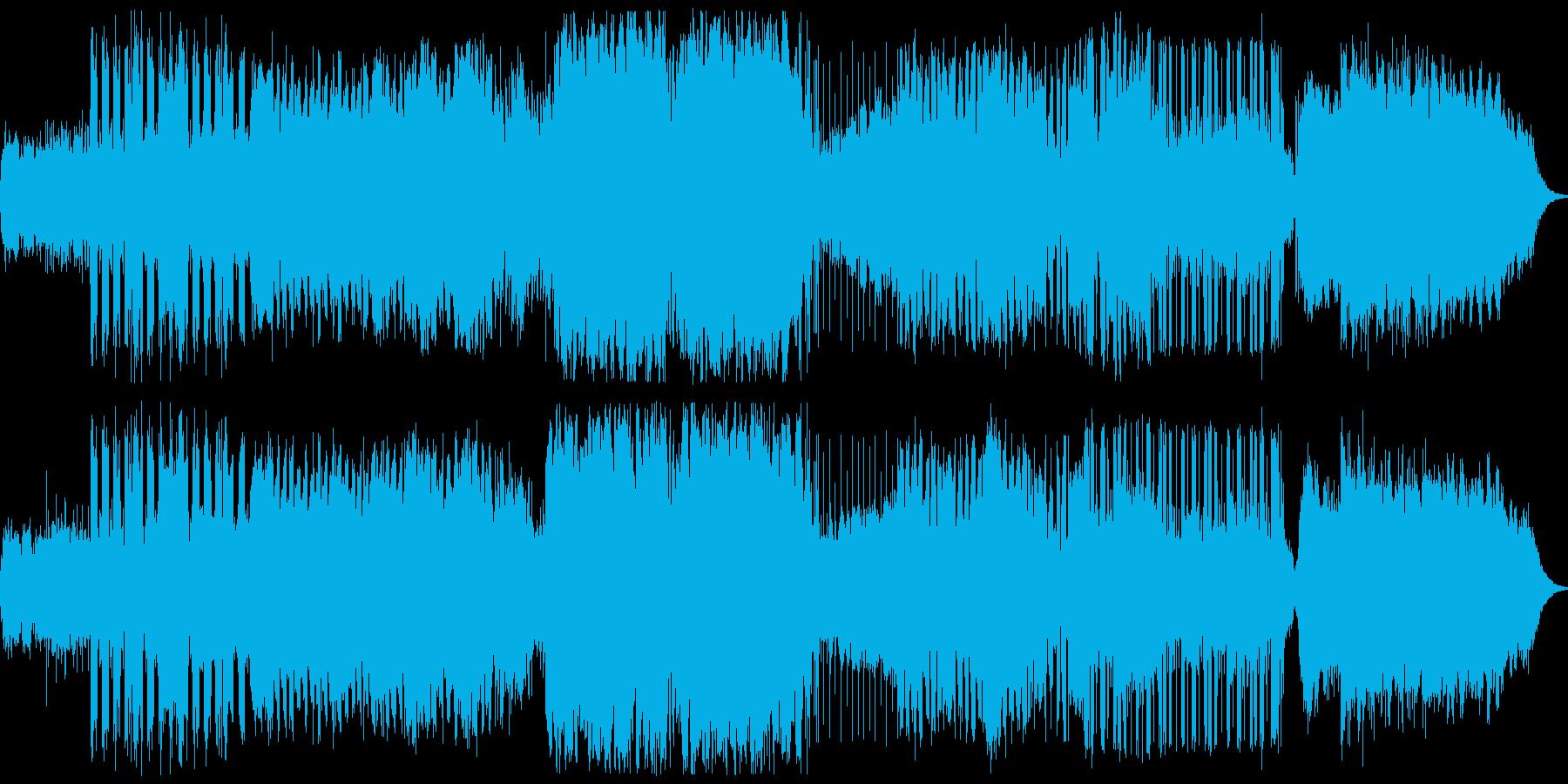 神官をテーマにしたBGMの再生済みの波形