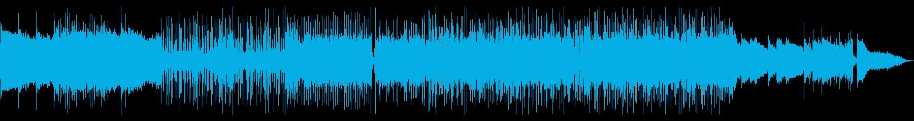 ギターが主役の和風インストゥルメンタルの再生済みの波形