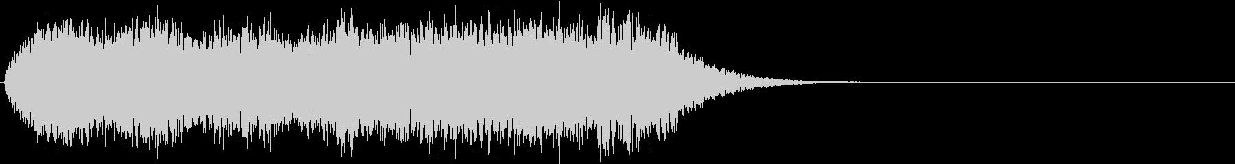 ホラー 不気味な雰囲気のオルガン 2の未再生の波形
