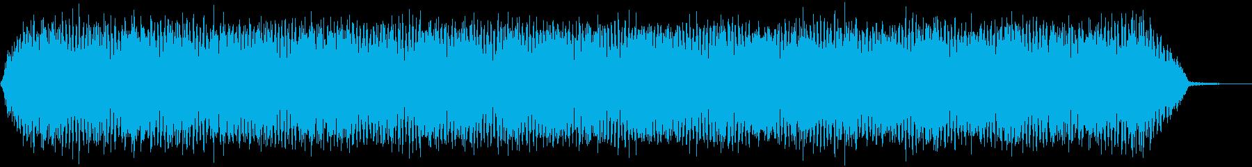 【アンビエント】ドローン_43 実験音の再生済みの波形