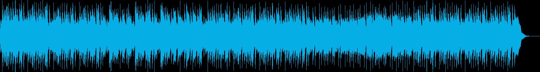 怪しいファンタジーなハロウィン風の曲の再生済みの波形
