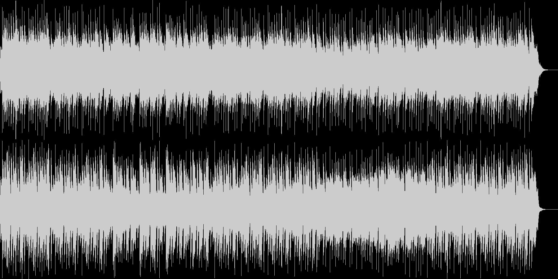 怪しいファンタジーなハロウィン風の曲の未再生の波形