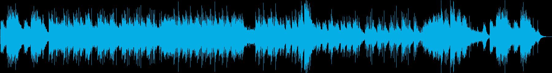 シンプルで儚いチャーミングなインストの再生済みの波形