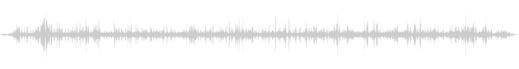 [ASMR]波打ち際の音_003の未再生の波形