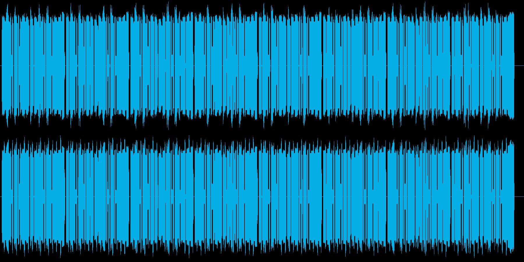 メリーさんの羊の8ビットバージョンの再生済みの波形