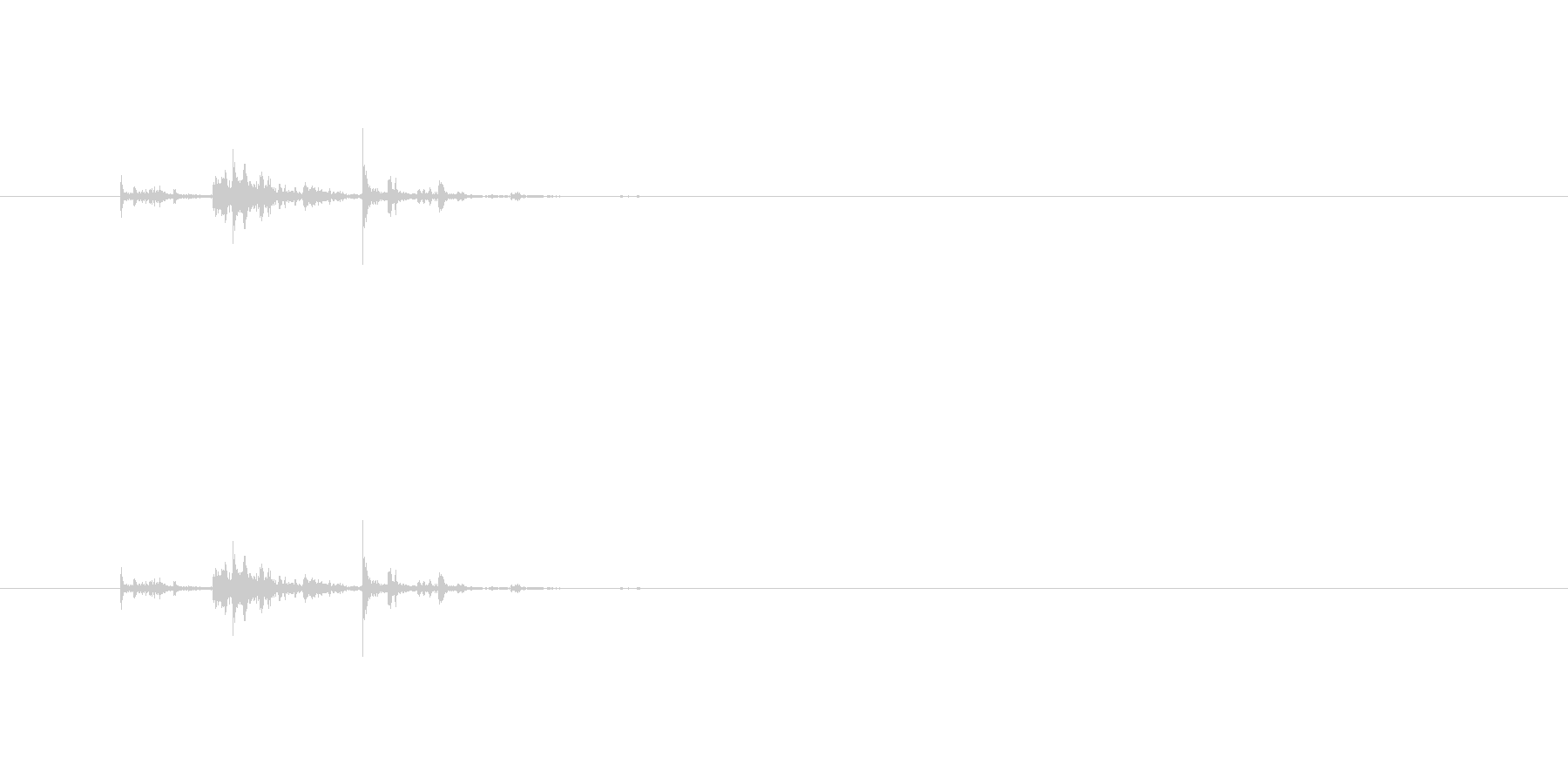 【筆箱03-5(ガサガサ)】の未再生の波形