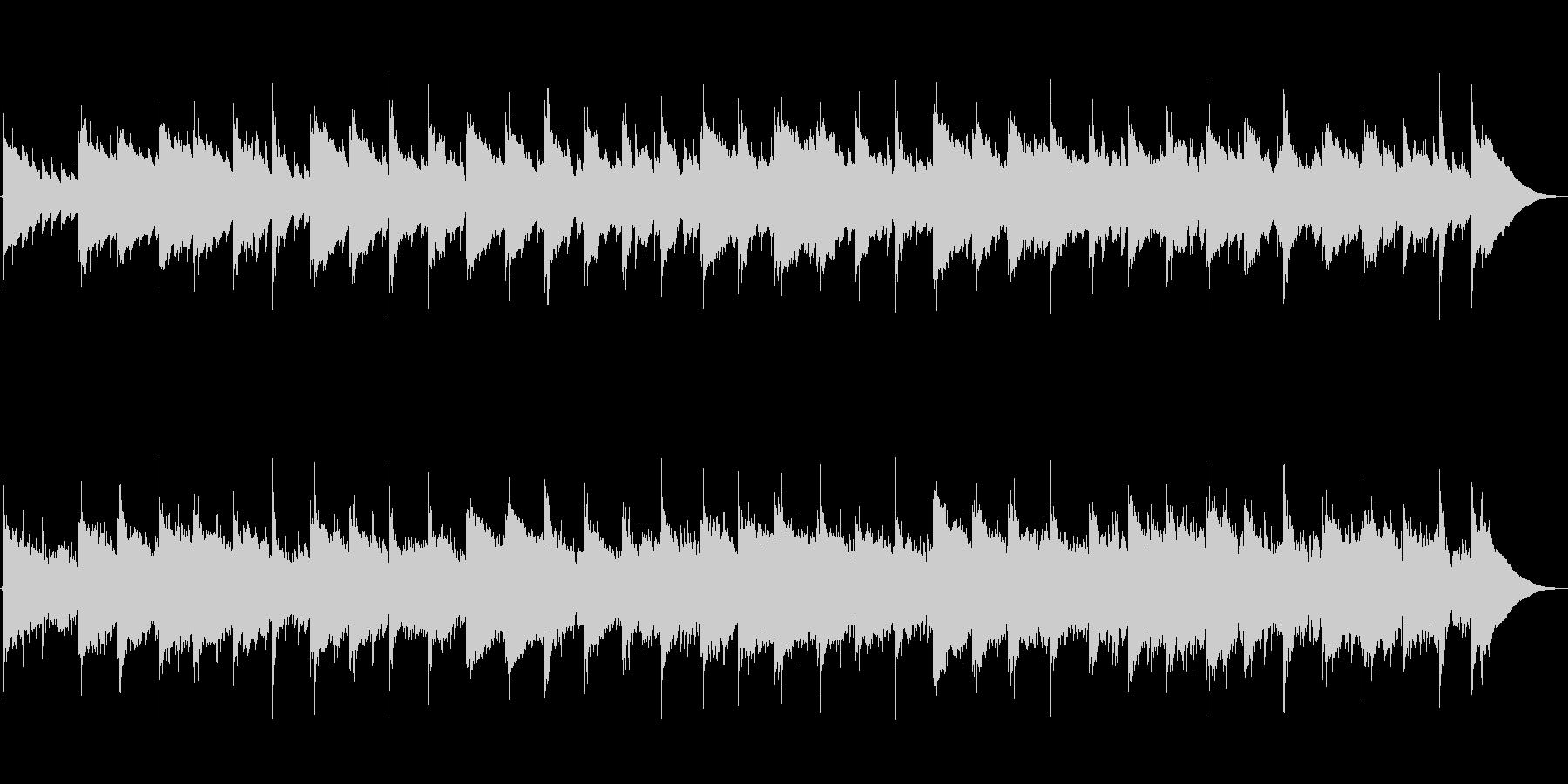 ノスタルジー 口笛 ギター BGM_2の未再生の波形