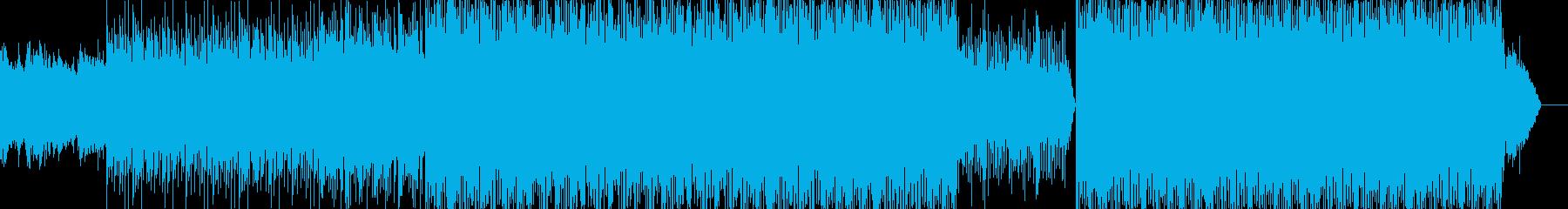 コマーシャル用の音楽。ポップレゲエ...の再生済みの波形