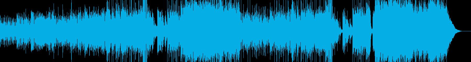 ハロウィンナイト・異世界風ワルツ Aの再生済みの波形