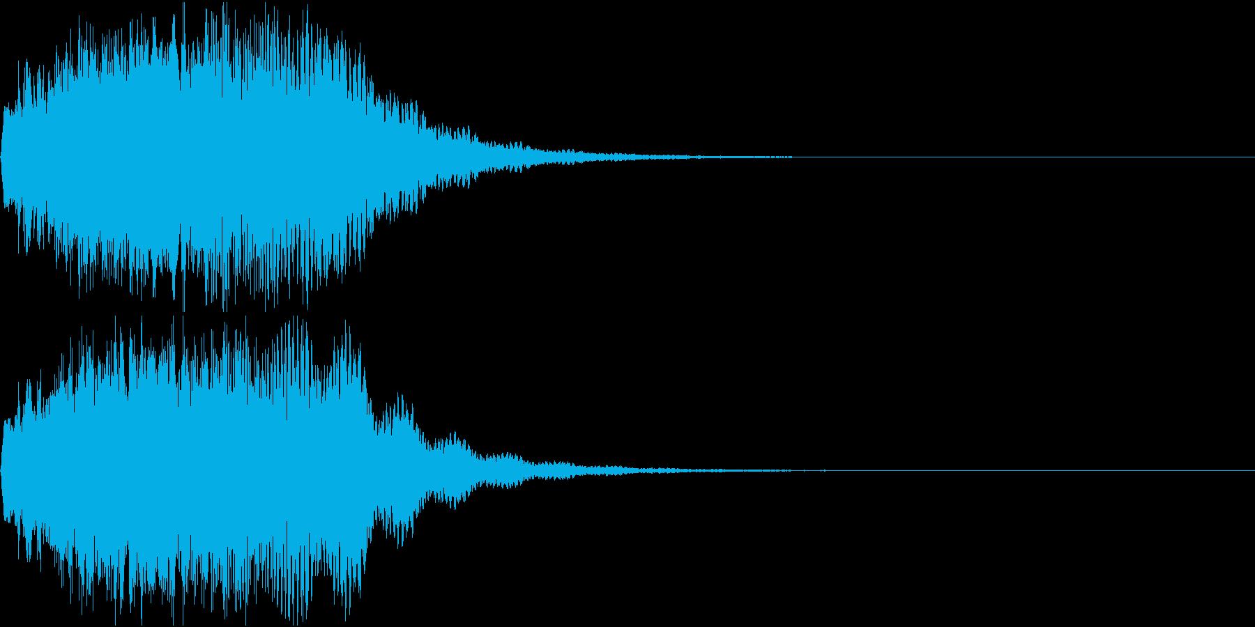 プーン・サイレン・ブザー・キュイーン3の再生済みの波形