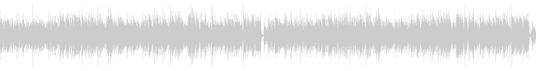 ドラムなし/ループ/ギター生演奏ボサノバの未再生の波形