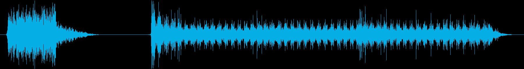 電力装置 バズ09の再生済みの波形