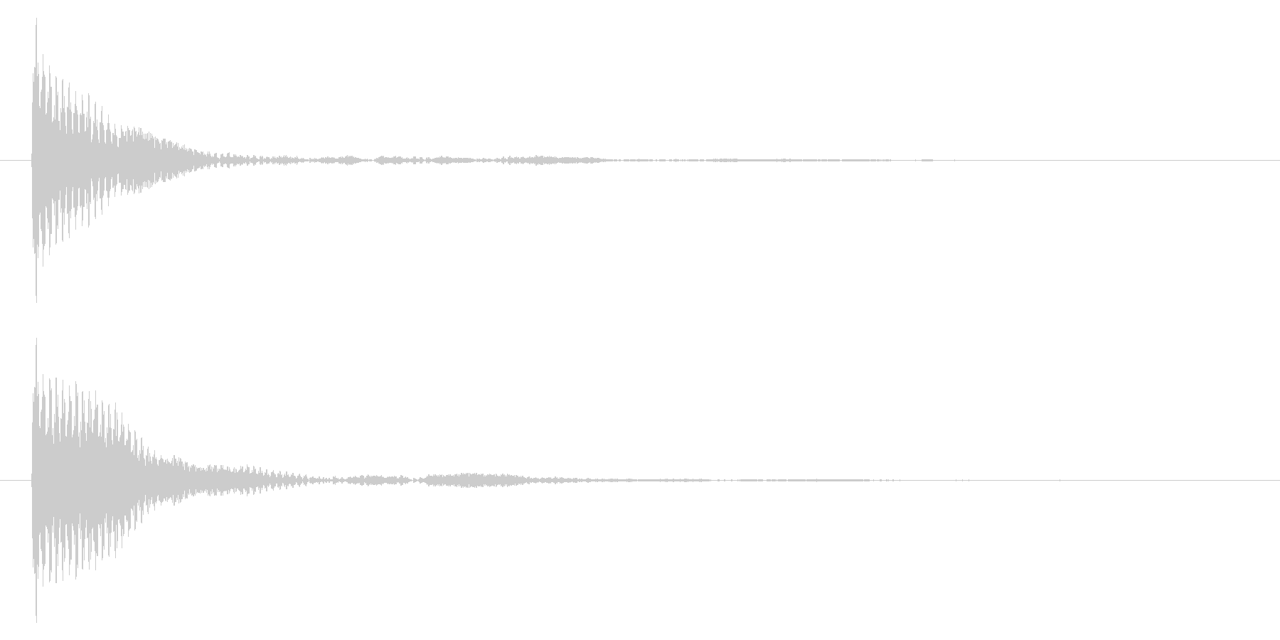 ポン カーソル音 タップ音 E-05_の未再生の波形