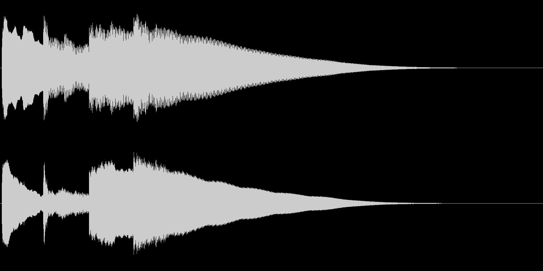 アナウンス前 チャイム-5_rev-2の未再生の波形
