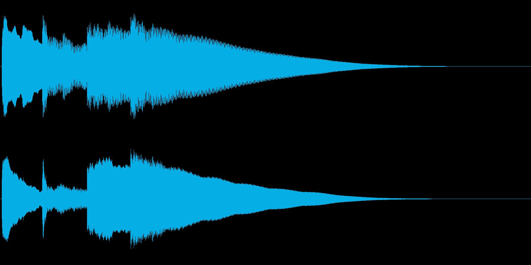 アナウンス前 チャイム-5_rev-2の再生済みの波形