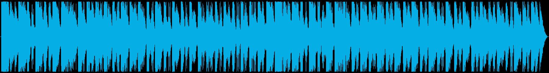 可愛い電子少女をイメージした曲の再生済みの波形