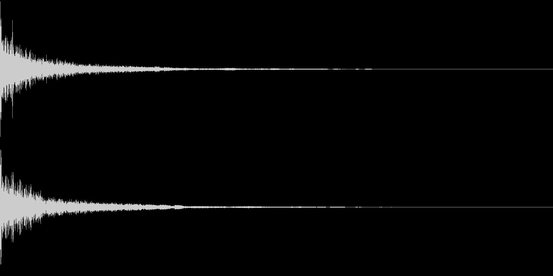 ビーム カードバトル スマホゲームの未再生の波形