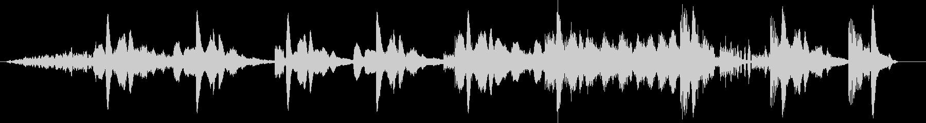 モダン テクノ エレクトロ 交響曲...の未再生の波形