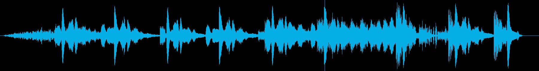 モダン テクノ エレクトロ 交響曲...の再生済みの波形