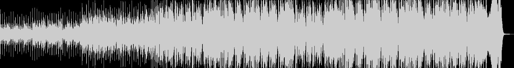ジプシー風怪しい小編成ビッグバンドジャズの未再生の波形