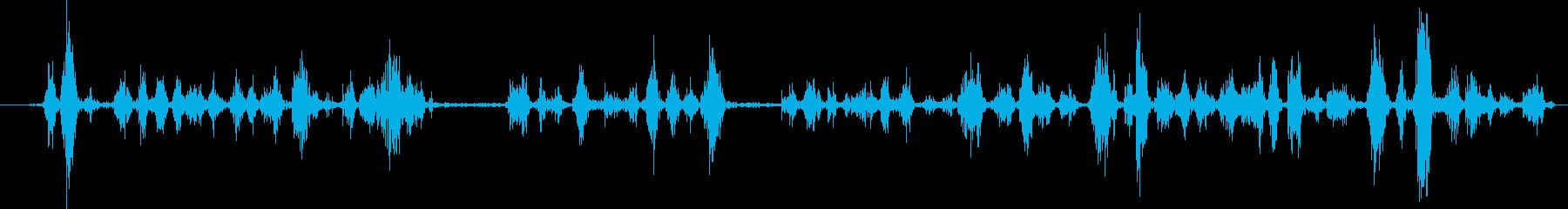 ボールペン:ライティング、ロング、...の再生済みの波形